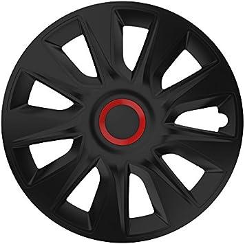 Universal Radzierblende Radkappe Schwarz 15 Zoll Für Viele Fahrzeuge Passend Auto