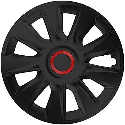 Universal Tapacubos Tapacubo Negro 16 16 pulgadas para el vehículo de ellos Seleccionados, véase Artículo Detalles.