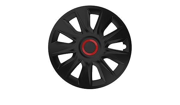 Universal Tapacubos Tapacubo Negro 16 16 pulgadas para el vehículo de ellos Seleccionados, véase Artículo Detalles: Amazon.es: Coche y moto