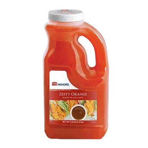 Minors Zesty Orange Ready To Use Sauce, .5 Gallon --- 4 Per (Orange Sauce Recipes)