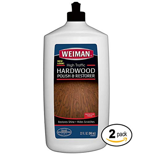Weiman High-Traffic Hardwood Floor Polish and Restorer - Natural...
