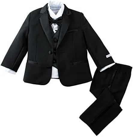 Spring Notion Baby Boys' Modern Fit Tuxedo Set , No Tail