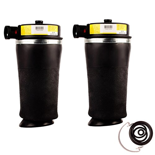 (DEDC REAR Air Ride Suspension Air Spring Bag for Ford Expedition 2WD 1997-2002 Lincoln Navigator 2WD 1998-2002 Single (2))
