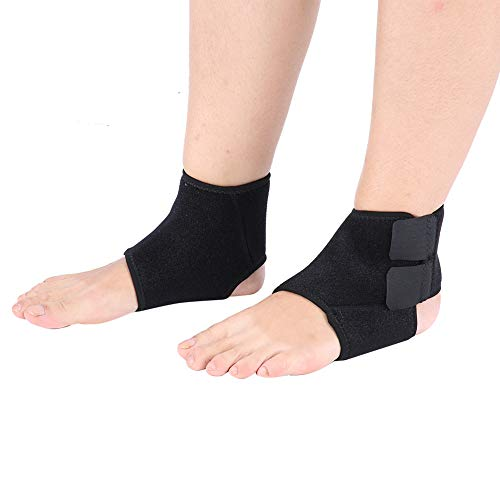 (Ankle Support, Adjustable 2 Pcs Ankle Support Compression Breathable Ankle Brace Compression Elastic Protection Strap, for Sprain, Tendonitis, Pain, Ideal for Running, Football Support)