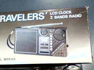 Bands Clock Model#MFR-88