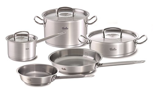 Fissler FISS-08437305000 Cookware Set, One Size, Black