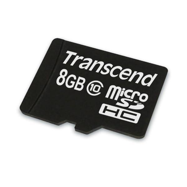 Transcend TS8GUSDC10 - Tarjeta de Memoria microSDHC de 8 GB 2