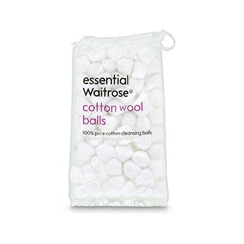 pure-cotton-wool-balls-85g-essential-waitrose-100-per-pack