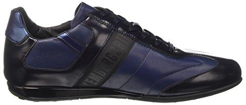 a 926 Uomo Bikkembergs Evolution Blu Basso Collo R Navy Sneaker q4SIc1Uw