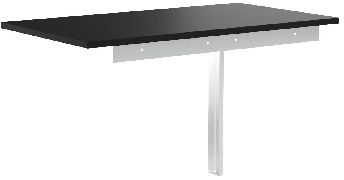 Mesa plegable 802.175.24 BJURSTA de IKEA, de 90 x 50 cm, de color negro