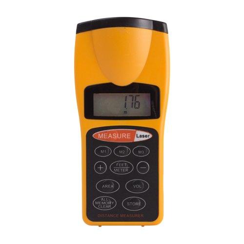Flexzion Ultrasonic Distance Meter Measurer Digital Tape Estimator Measuring Device (Ultrasonic Measuring Device)