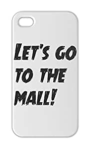 Let's go to the mall! Iphone 5-5s plastic case