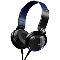 Sony Over The Ear XB-Series Extra Bass Headphones (Blue)