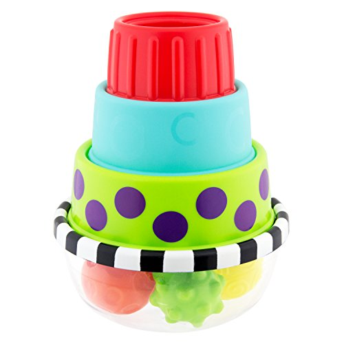Sassy Stack & Dunk Floor Toy (Toy Infant Sassy Bath)