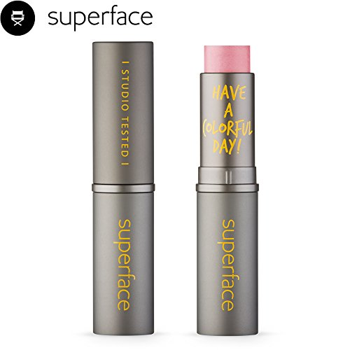 Highlighter Makeup Multi Lightful Stick [superface] Lip Eye Shadow Cheek Shading Shadow Skin Glow Boosting Lightweight Long Lasting Blendable Cream Blusher Natural Look Easy Application- One and Only