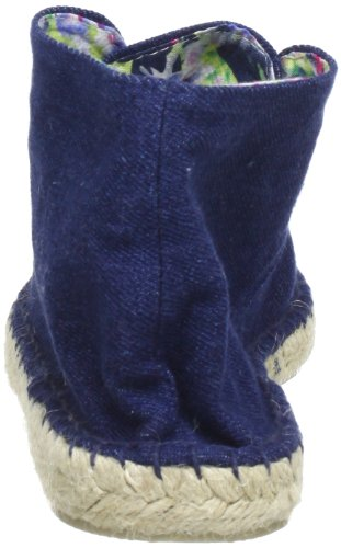 Colors of California HC.JMID01 Damen Espadrille Halbschuhe Blau (Jeans DEN)
