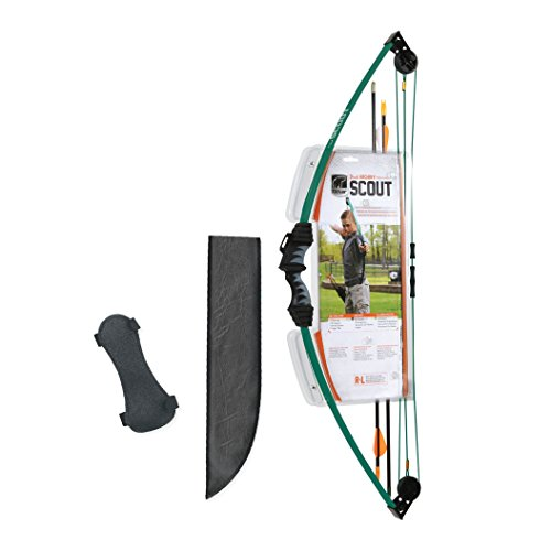 Bear Archery Scout Youth Bow Set - Hunter Green