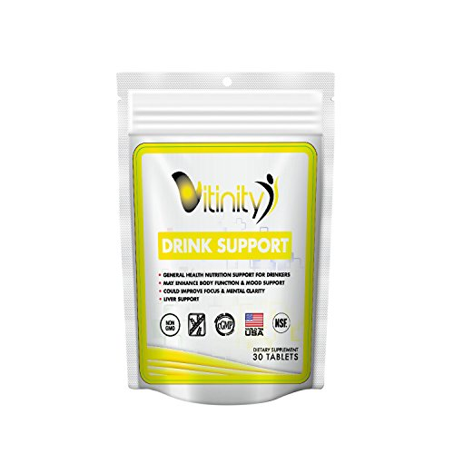 Anti Alcohol Drink Support Supplement - Craving Support, Liver Health, Reduce Intake Formula - Kudzu, Milk Thistle, Holy Basil, NAC for All Natural Detoxify, Gradual Reduction, and Stopping - 15 Days