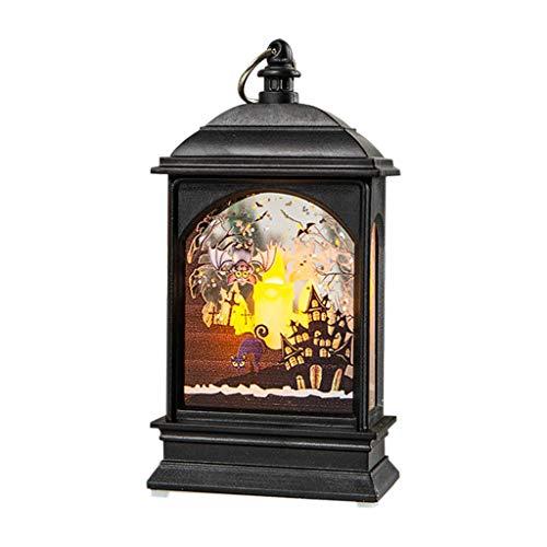 Halloween Pumpkin Light DOOIOR Lamp Door Room Decoration LED Lantern Party Home Props Halloween Night Lights Water Flash]()