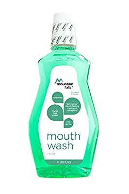 Mountain Falls Antiseptic Mouthwash, Original, Compare to Listerine,