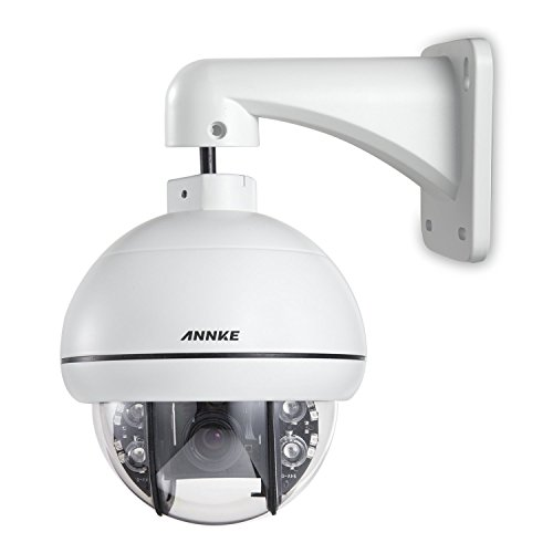 ANNKE 720P 1/4'' APTINA CMOS AHD Indoor/Outdoor CCTV Surveillance Camera with Super PTZ Rotation Function,IP66 Weatherproof Metal Housing by ANNKE
