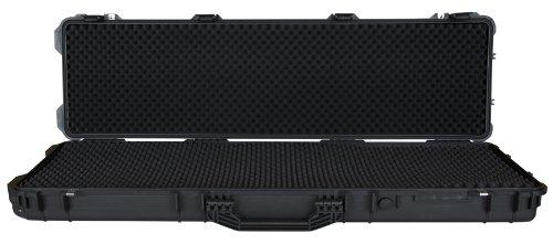 T.Z. Case International CB053 B 53 x 15 x 6 1/2-Inch Molded Utility Case with Wheels, Black by T.Z. Case International (Image #2)