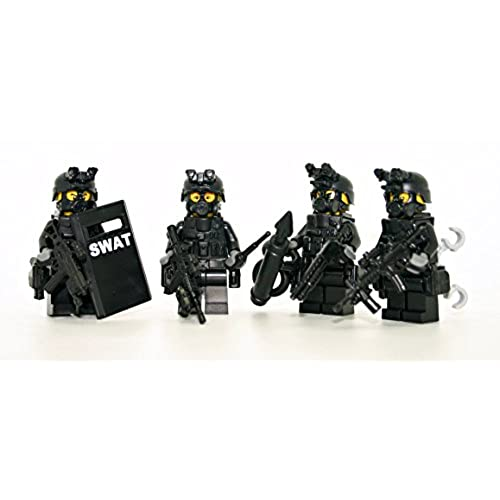 Lego Police and SWAT Team: Amazon.com