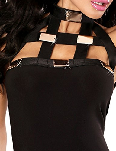 Taille Crayon kleine Schwarz sachen Femme Robe 1001 Unique Noir Tq0v6wttd