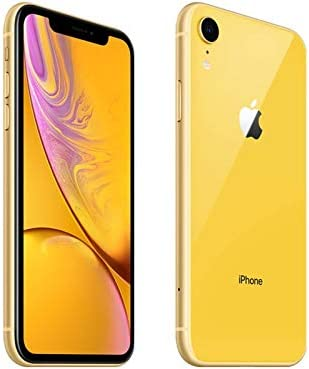 Apple iPhone XR, AT&T, 256GB - Yellow (Renewed)