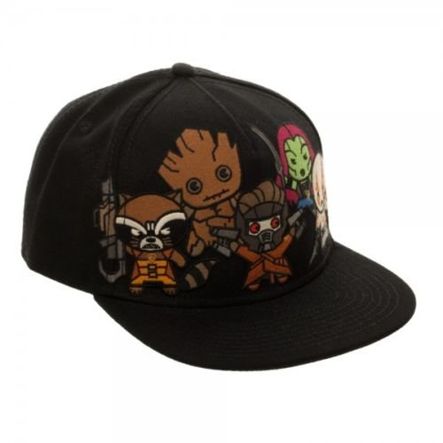 Zoe Saldana Guardians Of The Galaxy Costume (BIOWORLD Marvel Comics Kawaii Guardians of the Galaxy Snapback Hat)