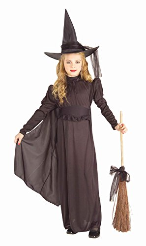 Forum Novelties Classic Witch Child Costume, Large ()