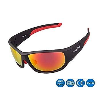 WYBFBYQ Gafas de Sol polarizadas para Hombres Gafas de ...