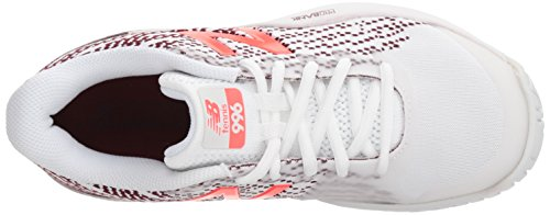 New Sports Balance Wc996 B Extérieurs Chaussures oxblood White De Femme XwXqUOrxdn