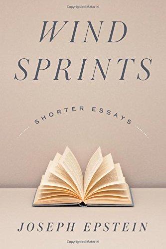 Wind Sprints: Shorter Essays
