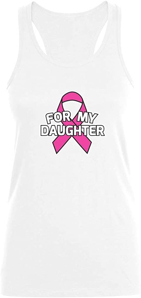 Camiseta sin Mangas para Mujer - For my Daughter - Apoya la Lucha contra el Cáncer de Seno