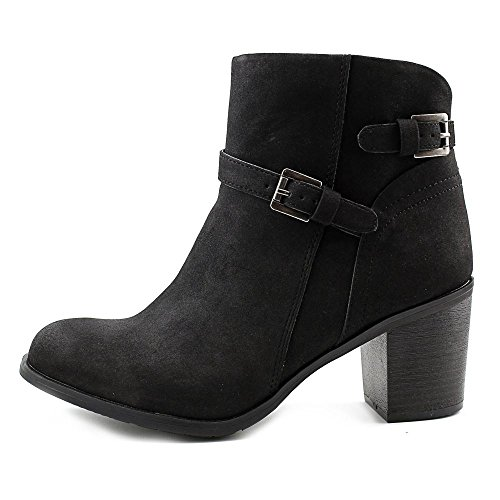 Femmes Simili Peyton Daim Rag American Bottine Black q6RS0E