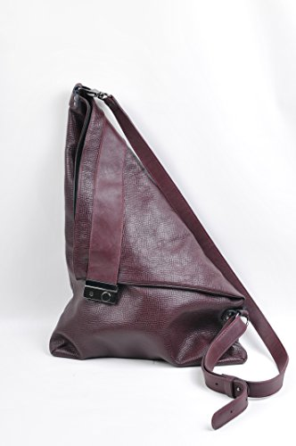 Lilimill Piega Alce Bordò - Borse a spalla Donna, Violett (Bordo), 33x0,5x31 cm (B x H T)