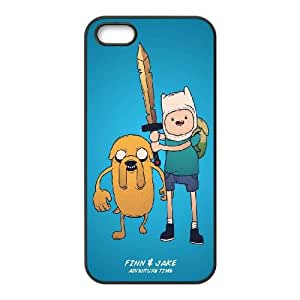 iPhone 5 5s Cell Phone Case Black Adventure Time With Finn And Jake 2 Atgxl