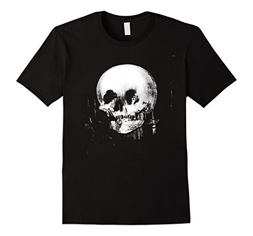 All Is Vanity: Halloween Life, Death, and Existence T-Shirt -