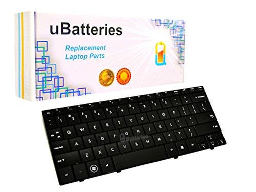 UBatteries Compatible Laptop Keyboard Replacement for Compaq Mini 110 110C 110-1000 CQ10 CQ10-100 HP Mini 110-1000 533551-071 535689-071 533549-001 535690-001 533549-001 LKB-HC17B - Black