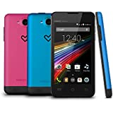 "Energy Sistem Phone Colors - Smartphone libre Android (pantalla 4"", cámara 5 Mp, 4 GB, ARM Cortex A7 1 GHz, GPU Mali-400, 512 MB RAM), multicolor"