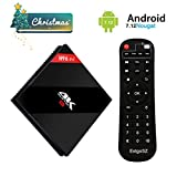 Android 7.1 TV Box Amlogic S912 Octa Core 1000M LAN 3D 4K Smart TV Player [2G DDRIII/ 16G Emmc Flash] with Dual WiFi 2.4GHz/5.8GHz BT 4.1 EstgoSZ