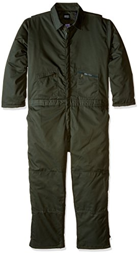insulated coveralls green - 8