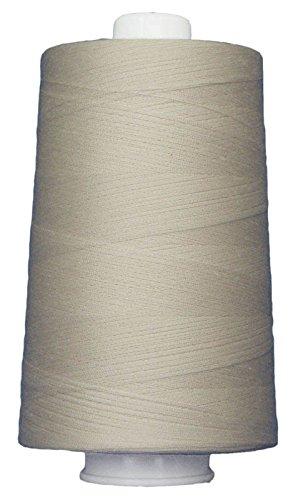 Superior Threads 13402-3004QC Omni 40W Polyester Thread, 6000 yd, Cream by Superior Threads