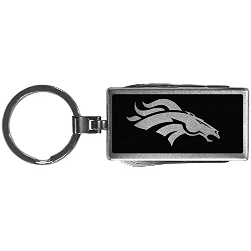 Siskiyou Sports NFL Denver Broncos Multi-Tool Key Chain, ()