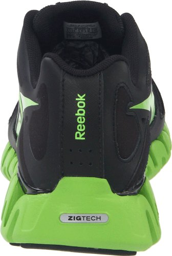 Sushi Black ZigDynamic Ankle Shoe High Men's Silver Running Green Reebok Yw0x5