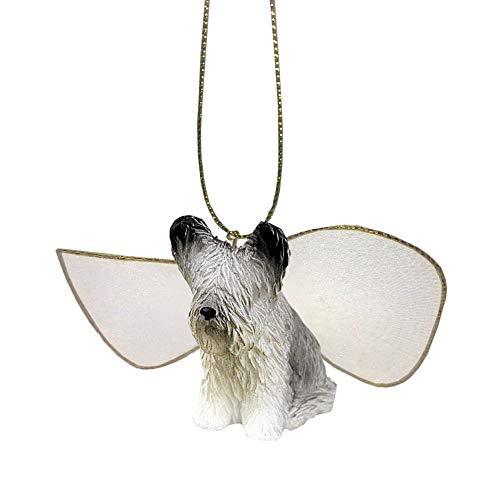 (ForPetLovers Small Skye Terrier Angel Figurine)