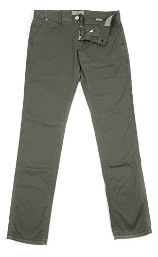 new-luigi-borrelli-olive-green-solid-pants-super-slim-36-52