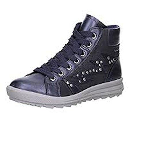 Superfit LINA 500-47 Mädchen Hohe Sneakers Goretex (40, Lavagna Kombi)