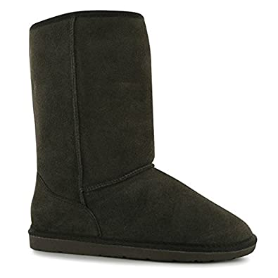 Amazon.com | SoulCal Womens Tahoe Snug Ankle Boots Faux Fur Trim Suede  Casual Winter Shoes | Boots